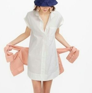 Dresses & Skirts - J Crew cotton shirt dress